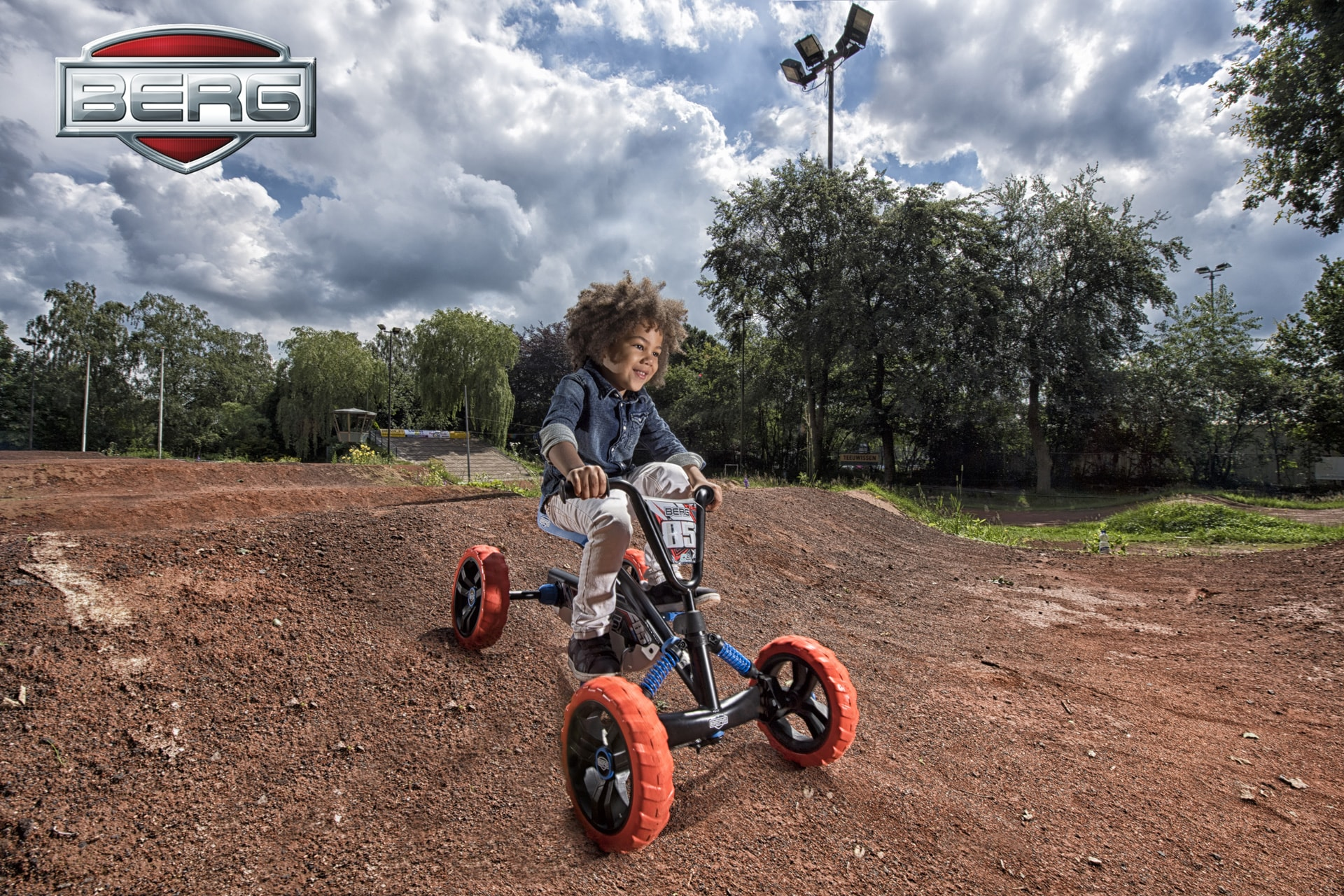 Vroom Pedal Go-Karts Buzzy Nitro for 2-5 Year Old
